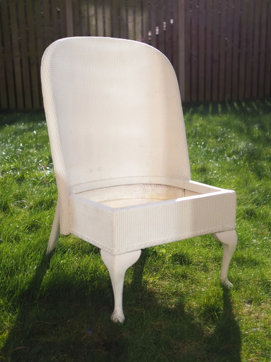 Upcycling a Lloyd Loom chair (6)