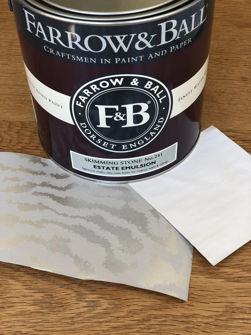 Farrow and Ball skimming stone