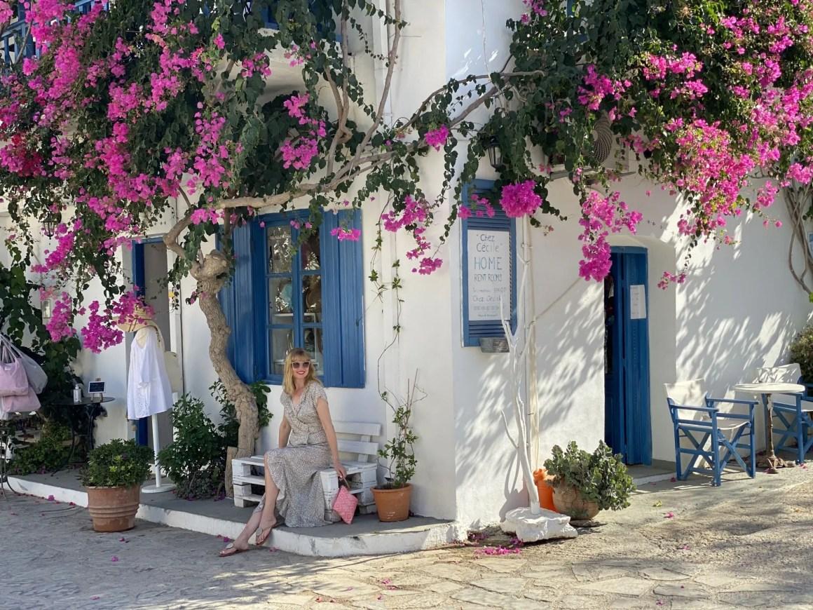 Aspiga ruffle dress Mochlos cretee