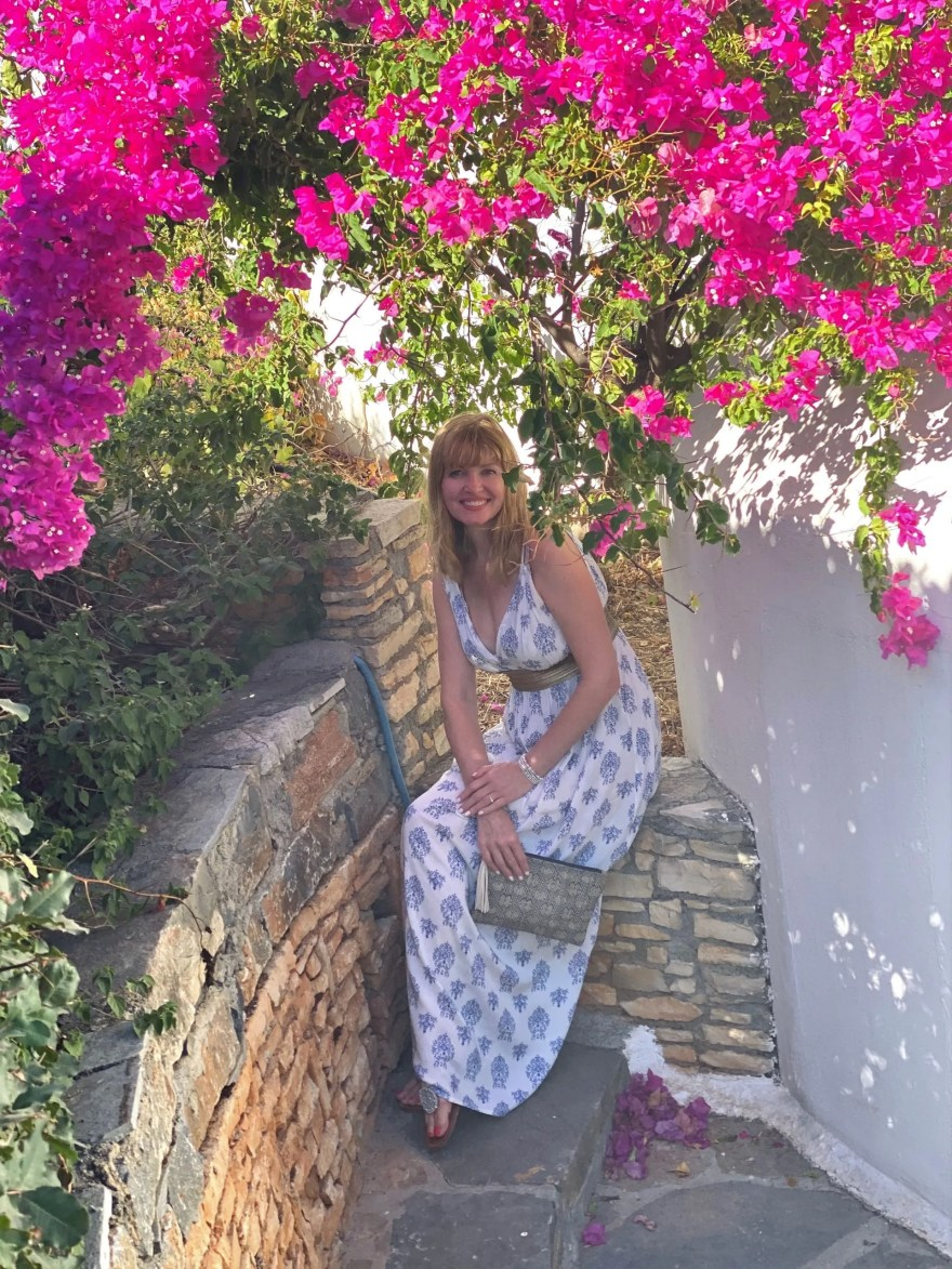 holiday outfits: Grecian style dress