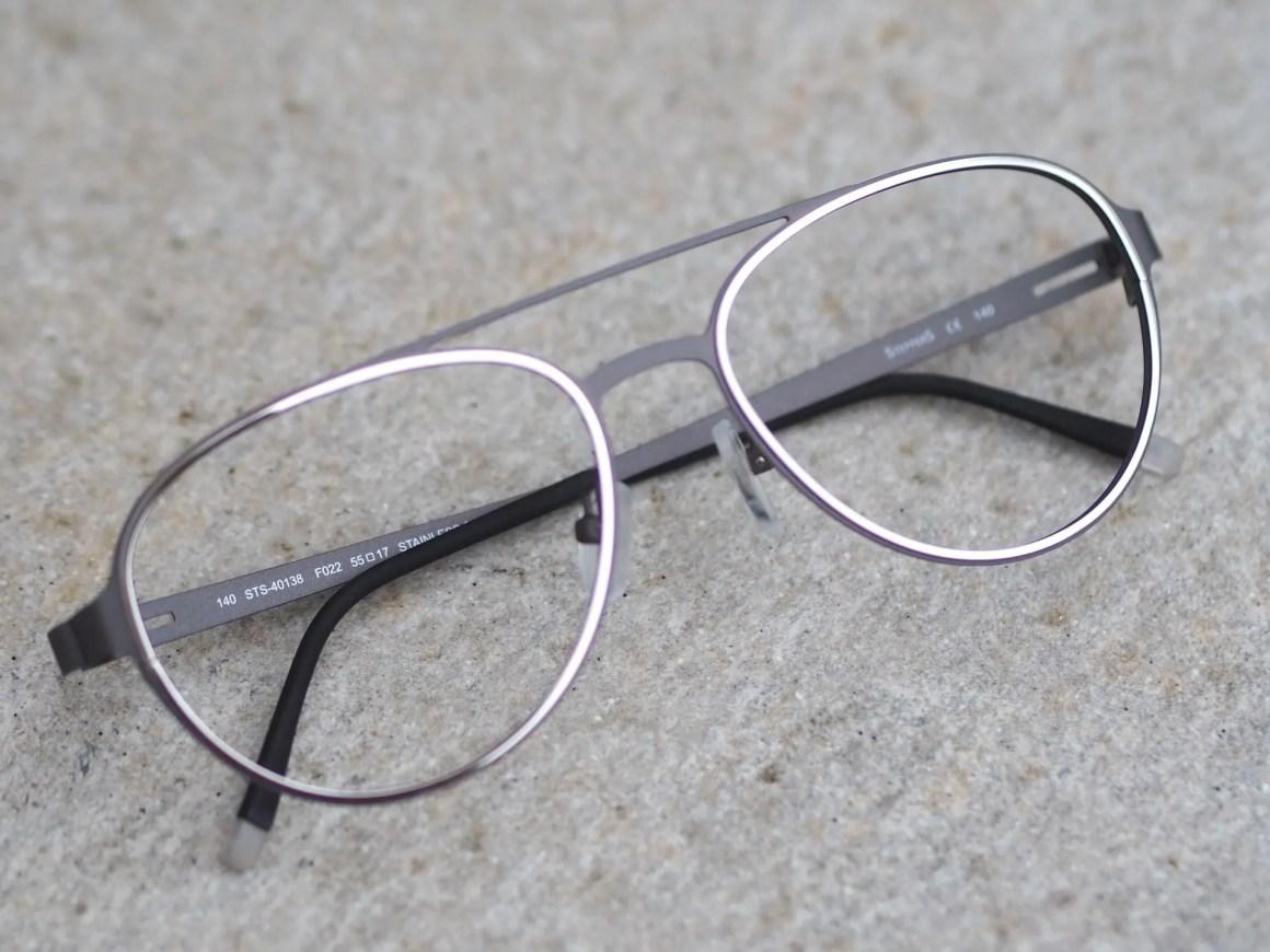 Stepper modern aviator style eyewear