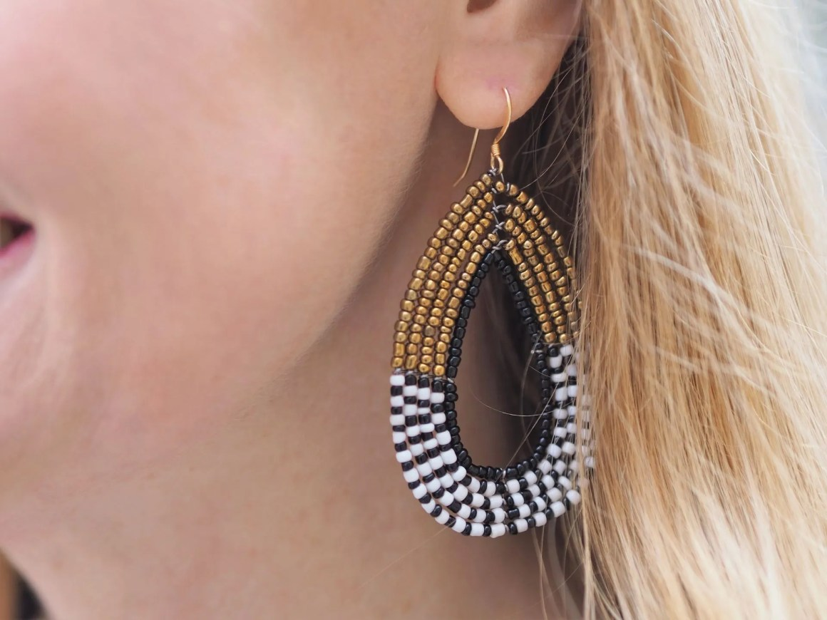 Karioko beaded earrings (7)