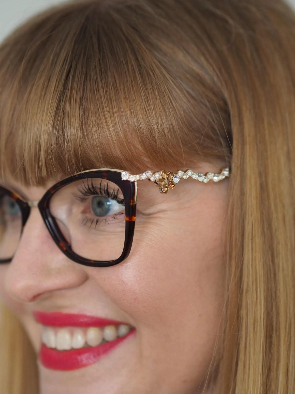 Pier Martino crystal eyewear