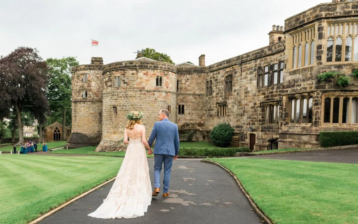 wedding at Skipton Castle