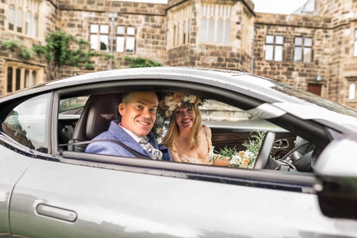 Aston Marten wedding car