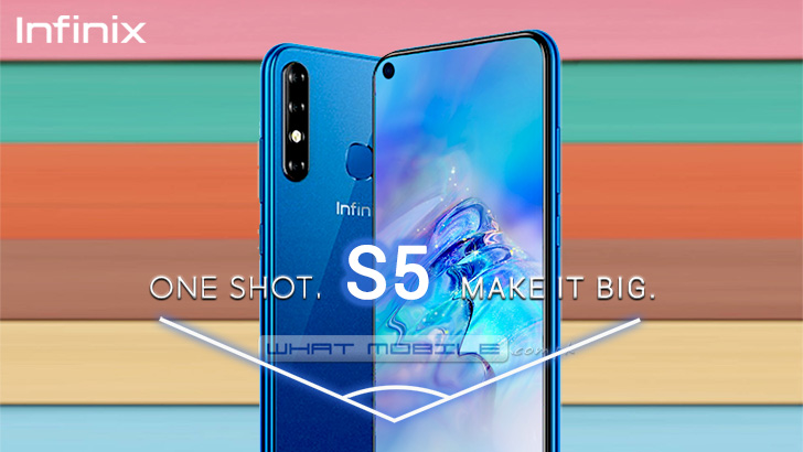 Infinix Hot S5 Will Feature A Punch Hole Display Specs