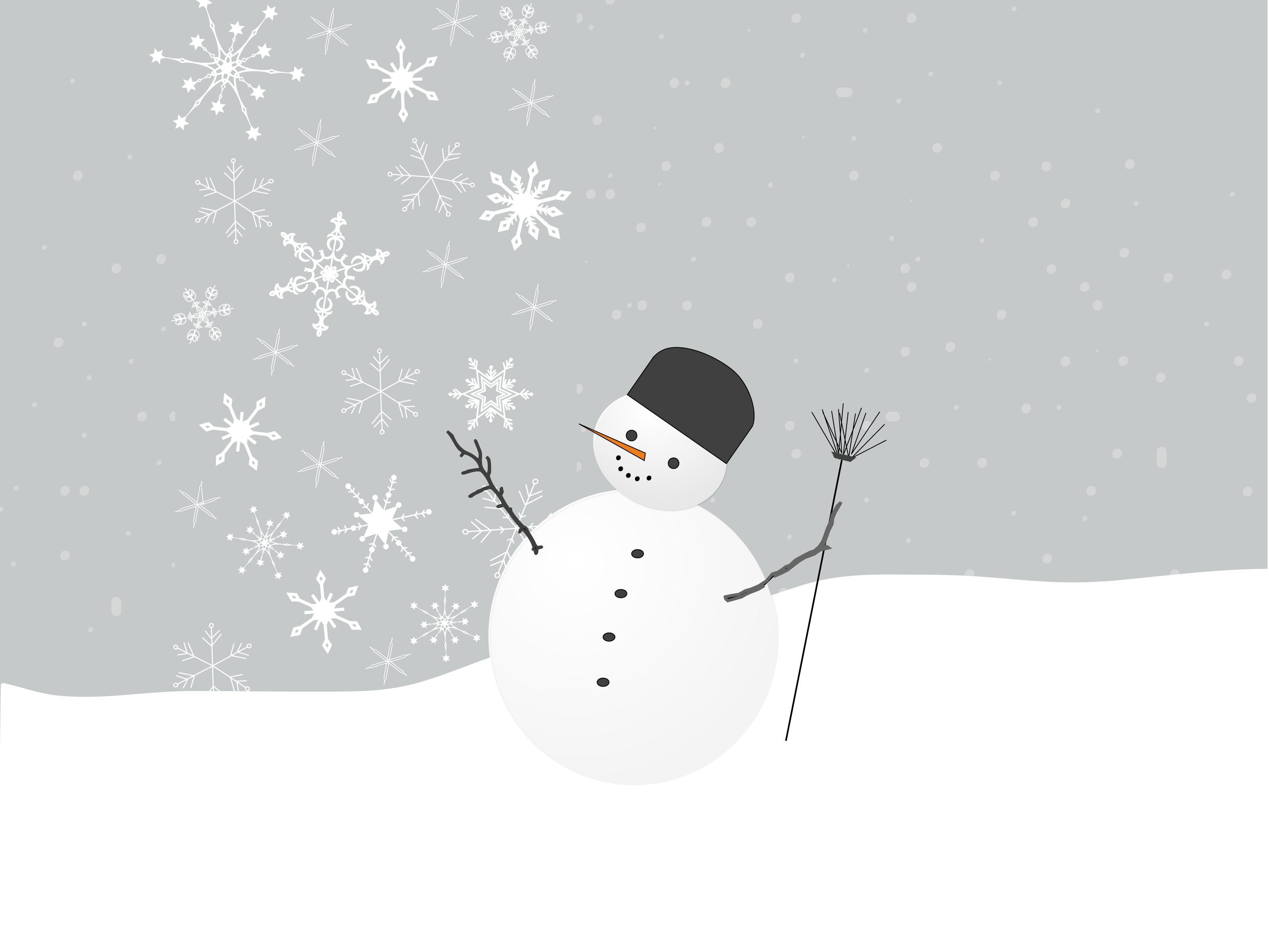 Free Blank Snowman Templates