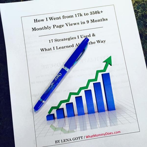 Blog Ebook sul traffico - Come ho aumentato le visualizzazioni della mia pagina mensile a oltre 350.000 in 9 mesi