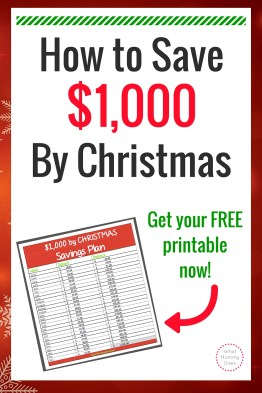 Save Money for Christmas - This easy 26 week Christmas savings plan will help you save money for Christmas gifts this year!