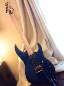 Mitchell HD400 Transparent Blue