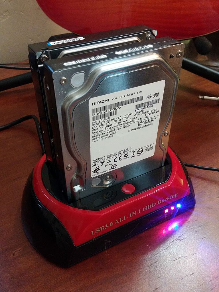 WANLONGXIN SATA Docking Station