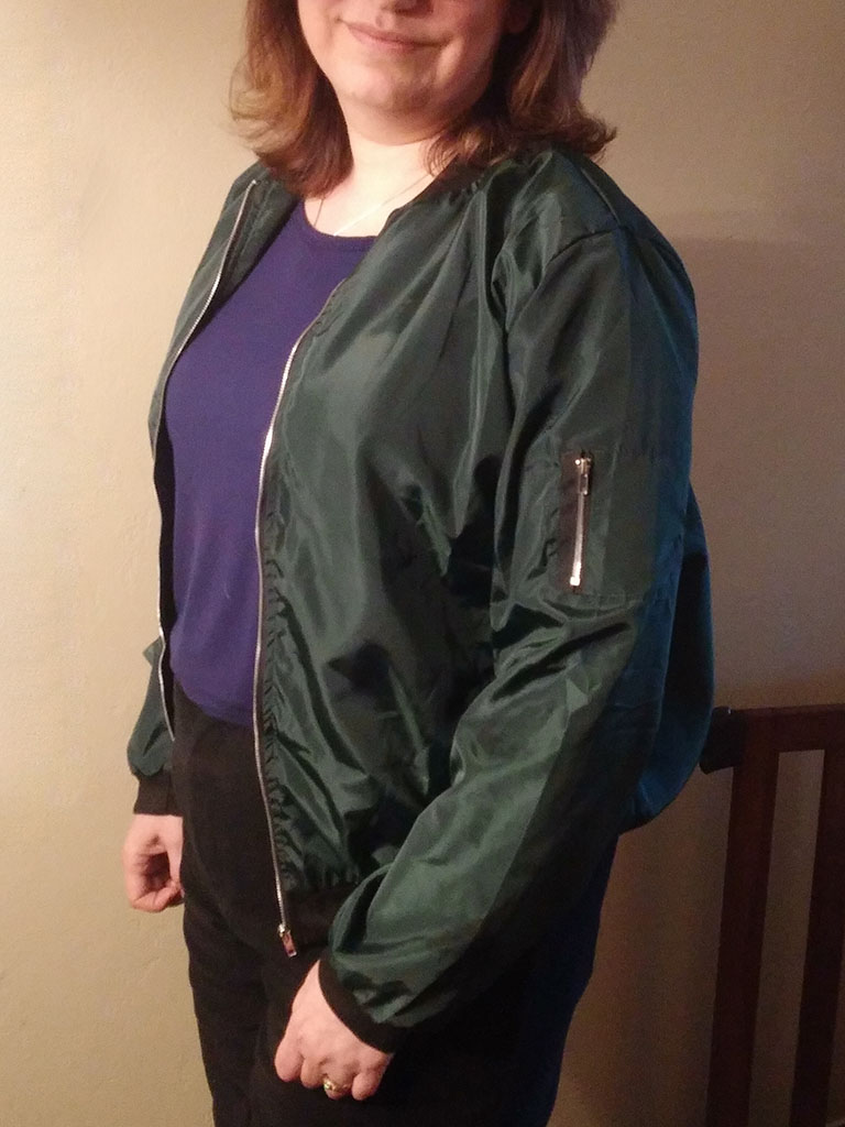 Nagoo Womens Bomber Jacket