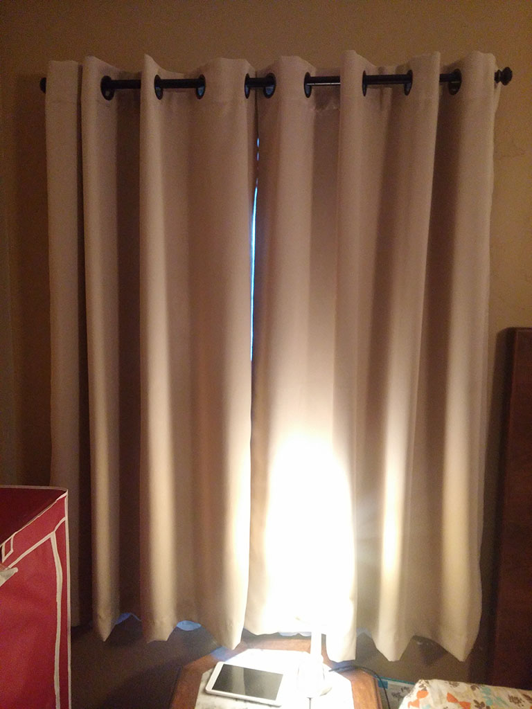 Balichun Curtains 63-Inch 2 Panels