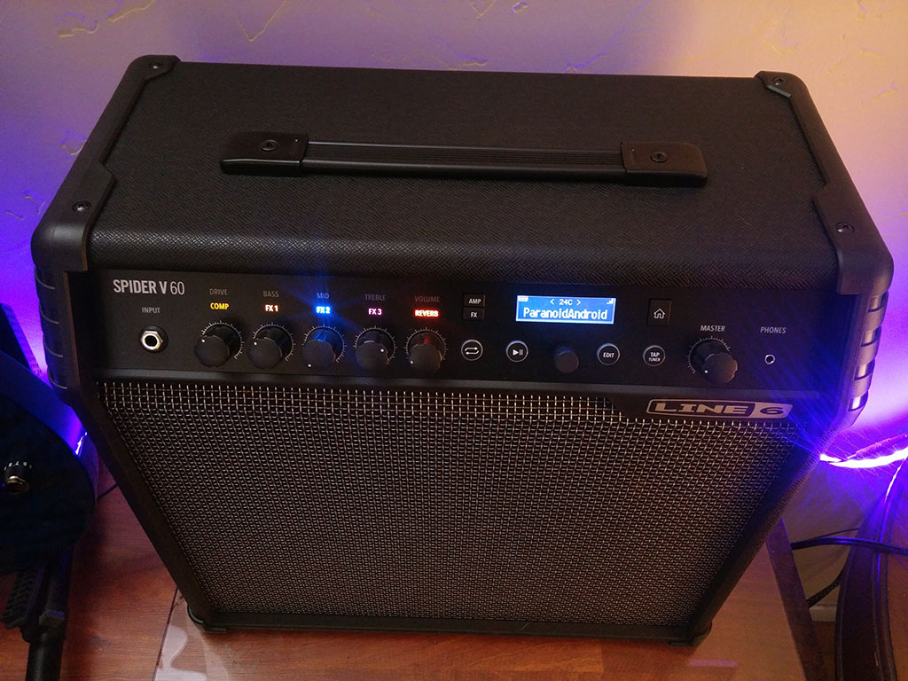 Line 6 Spider V 60 Wireless Ready Modeling Guitar Amplifier - What Monkey  Says