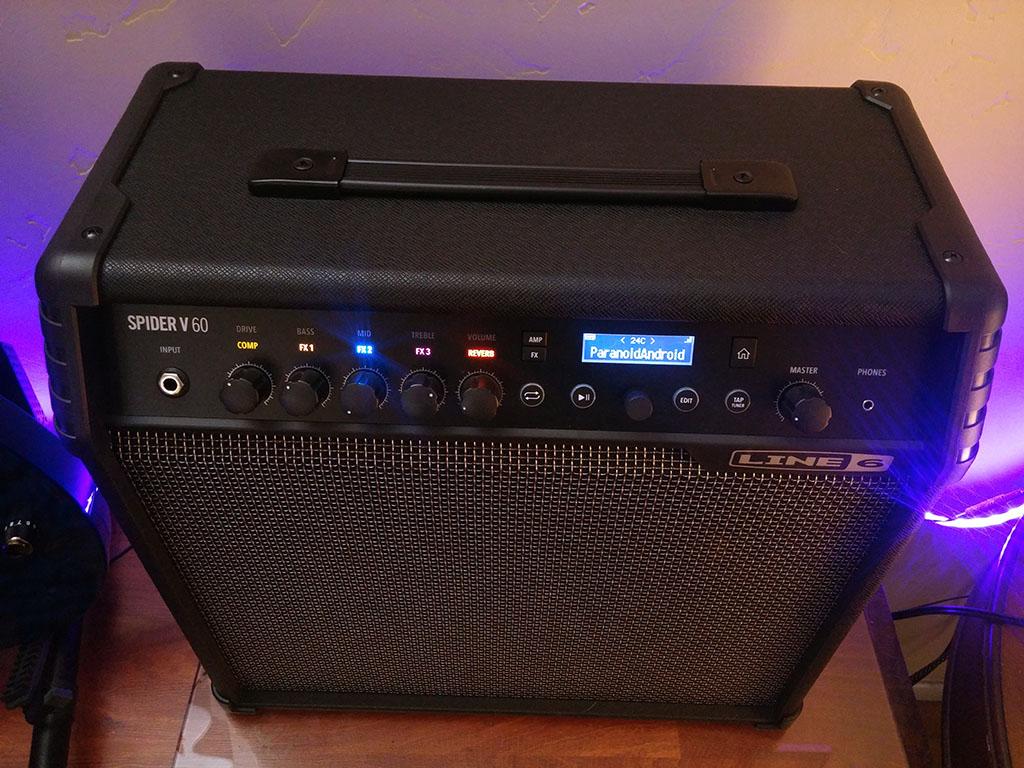 Line 6 Spider V 60 Wireless Ready Modeling Guitar