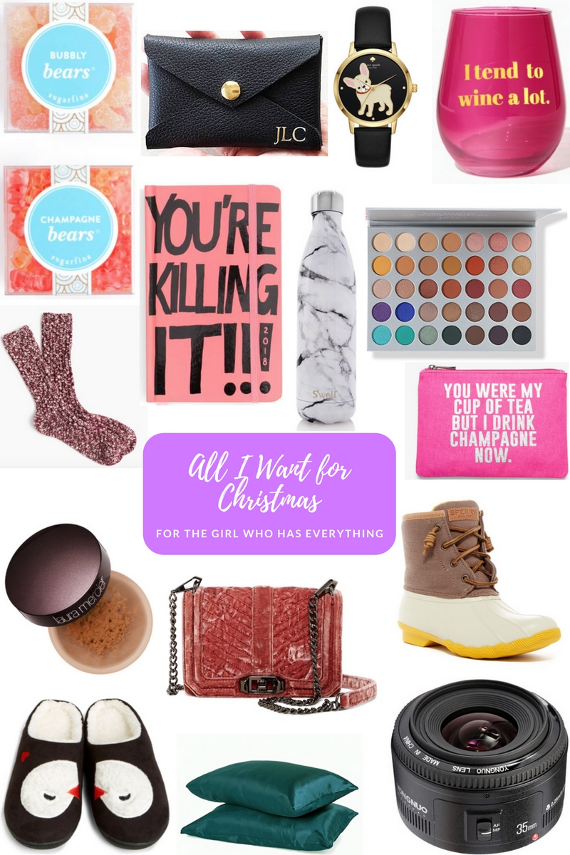 Southern lifestyle blogger, What Nicole Wore, shares her holiday 2017 wish list -- perfect for those ladies that are hard to shop for. // sugarfina gummy bears, gifts for her 2017, christmas 2017 wish list, speedy boots on sale, rebecca minkoff bag on sale