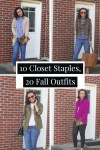 How to Make 20 Outfits from 10 Wardrobe Staples