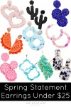 10 Pairs of Spring Statement Earrings Under $25