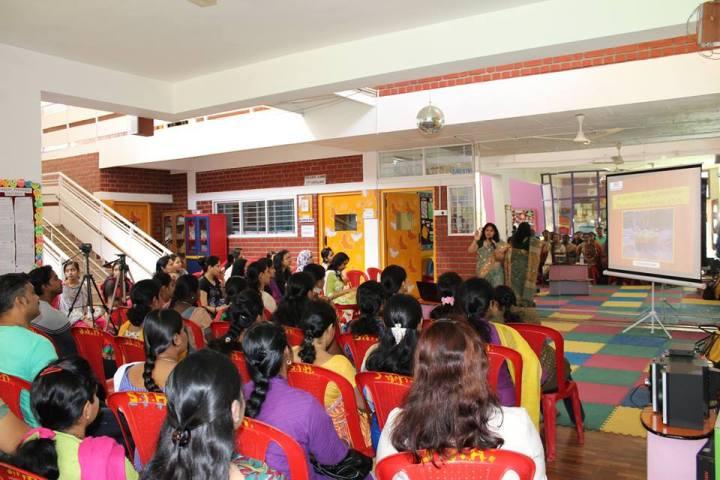 parenting workshop at eurokids by dr debmita dutta