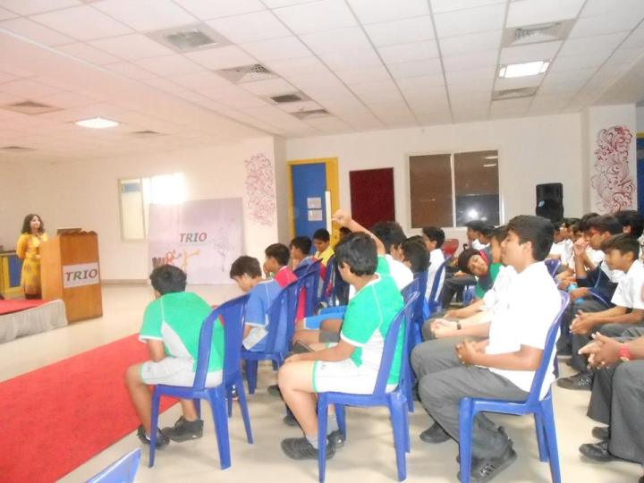 workshops for teens by dr debmita dutta at trio world school