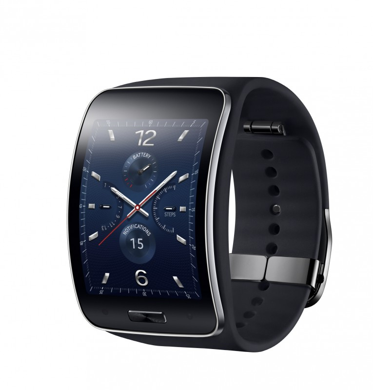 Samsung Gear S_Blue Black_2