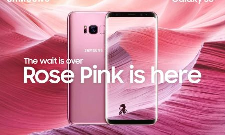 Samsung Galaxy S8+ Rose Pink