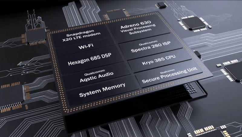 Samsung made Qualcomm Snapdragon 845 Platform