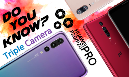 Do you know Huawei P20 Pro Triple camera