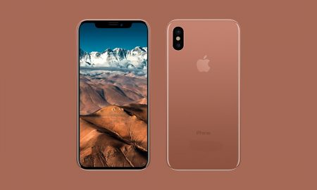 Apple iPhone X Blush Gold - 1