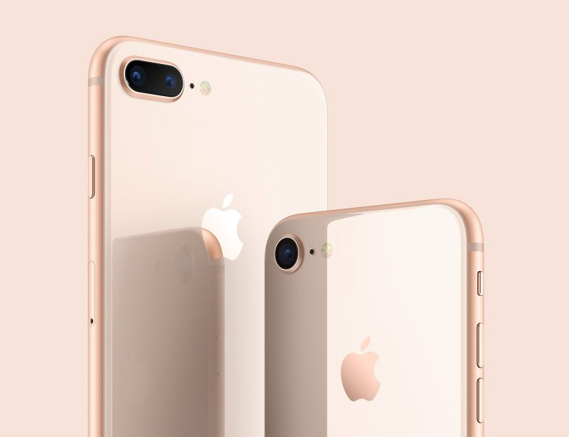 iPhone 8   8 Plus Gold [Back]