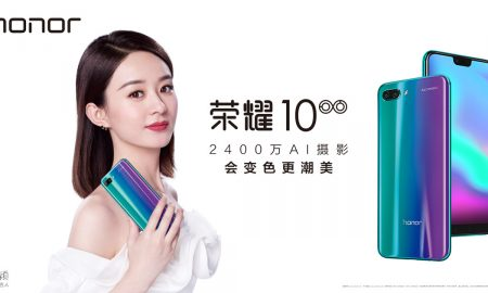 Honor 10 Official Head