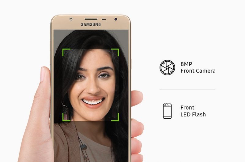 Samsung Galaxy J7 Duo Front Camera