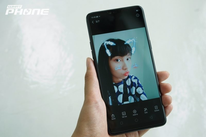 OPPO F7 Preview เซลฟี่