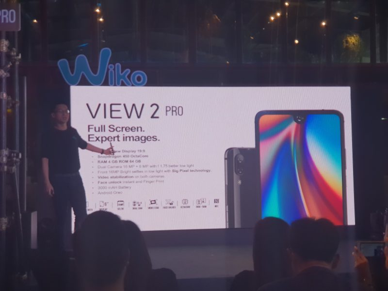 New Wiko View 2 Pro Spec สเปค