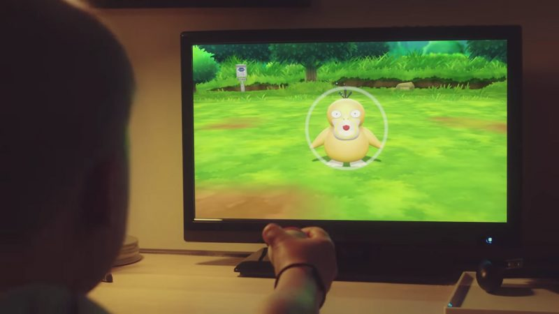 Pokemon Let's Go with Poke Ball Plus