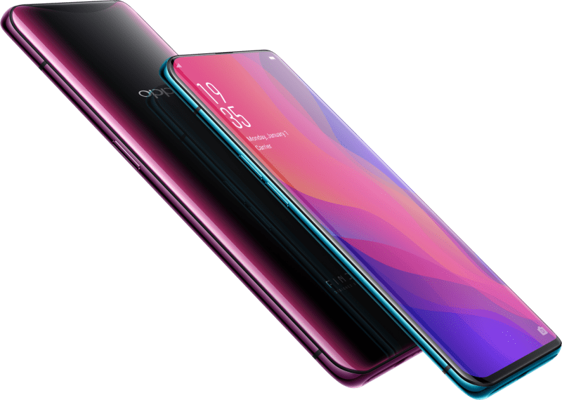 Oppo Find X Gradient Design