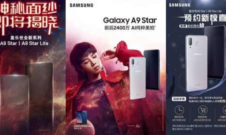 Samsung Galaxy A9 Star and Galaxy A9 Star Lite Teaser Poster - 2