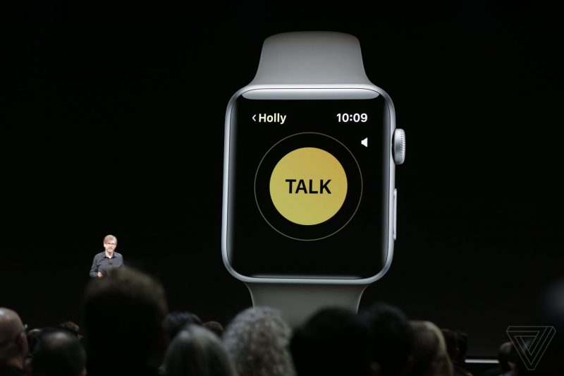 apple_WWDC_2018 Walkie Talkie Watch OS 5 feature - 1