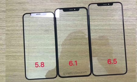 New iPhone 2018 iPhone Glass Panel leak