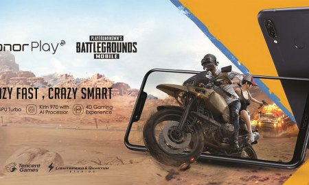 Honor Play with PUBG Mobile