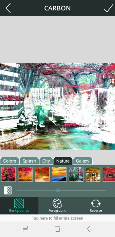 5 แอป แต่งภาพ Carbon Photo Lab - Double Exposure Blending Effect