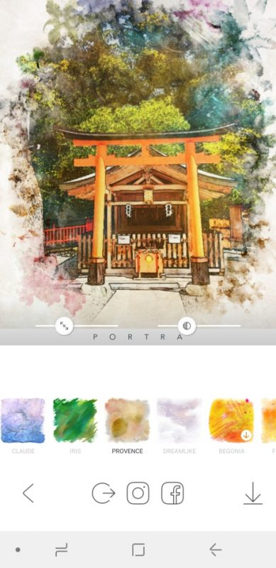 PORTRA - Stunning art filter