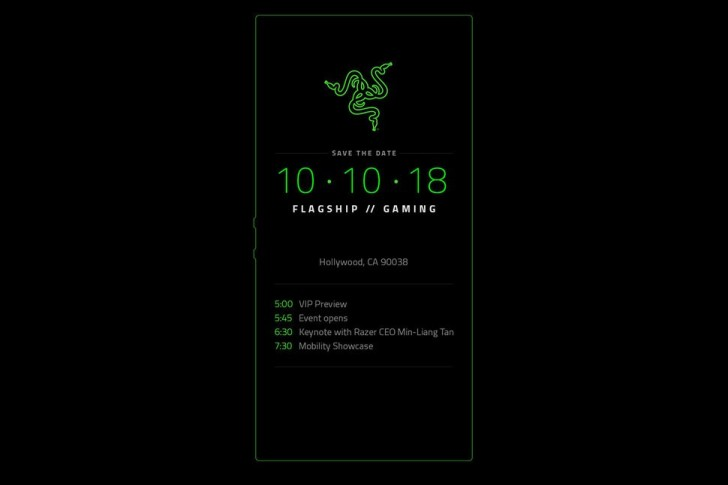 Razer Phone 2 Invitation