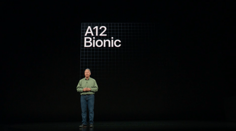 iPhone Xs A12 Bionic CPU