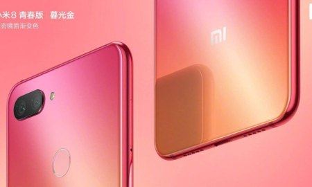 Xiaomi Mi 8 Youth Gradient Colors