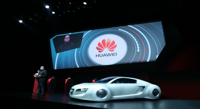 Huawei Audi Partnership driverless car