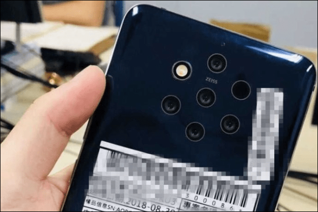 Nokia 9 photo leak