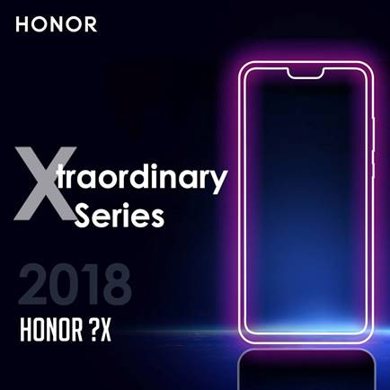 honor 8x teasing