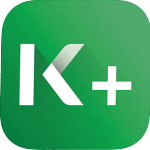 new k plus logo