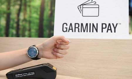 Garmin Pay Head